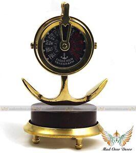 Collectible Brass Nautical Ship's Engine Order Telegraph Desktop Decorative Gift