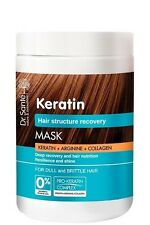 35445 Mask Keratin for Dull and Brittle Hair 1000ml Dr.sante 1 Bottle