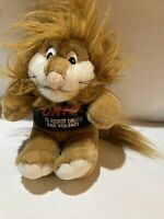D.A.R.E. TO RESIST DRUGS AND VIOLENCE Plush Doll/Stuffed Animal LION DARE