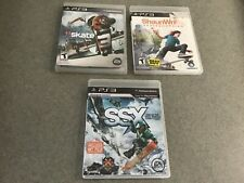 Skate 3 , shaunwhite skateboarding,ssx, Ps3 check my other listings