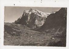 Grindelwald Wetterhorn [H Steinhauer 2009] Switzerland Vintage Postcard 866a