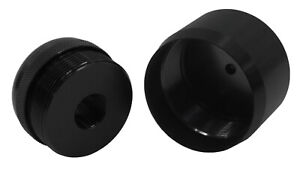 """1/2""""-28 Adapter for Mag lite D Cell Thread Smooth with End Cap M-034/080"""