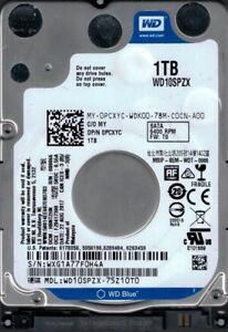 WD10SPZX-75Z10T0 Dcm : HBNT2HN WXG1A Western Digital 1TB