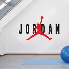 Michael Jordan Silhouette Autocollant Mural