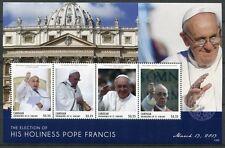 St. Vincent Canouan 2013 Papst Franziskus Pope Francis Wahl Election MNH