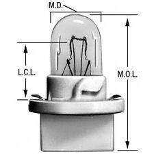 Instrument Panel Light Bulb Rear Wagner Lighting PC195