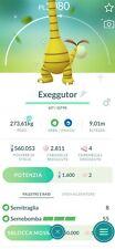 pokemon go exeggutor alola shiny (READ BIO)