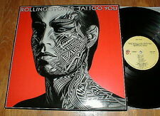 """ROLLING STONES Orig 1981 """"Tattoo You"""" LP w Waiting On A Friend NM-"""
