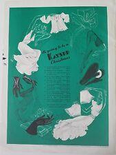 1940 Kayser women's slip underwear gloves Hosiery legs price list ad