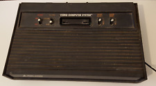 Atari 2600 Console, Original Black Finish, No Accessories Or Power Cord