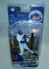 ☆ NEW RARE McFarlane DAVID WRIGHT MLB Series 28 New York Mets ALT WHITE JERSEY