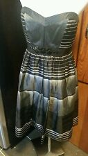 Bcbg max azria dress size 8 above knee strapless cocktail black