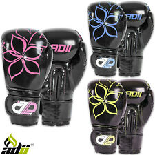 ADii Ladies Boxing Gloves MMA Muay Thai Women Kickboxing Sparring Training Girls