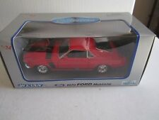 Welly 1970 Ford Mustang - Die Cast Metal Car - 1:24 -