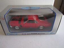 WELLY 1970 FORD MUSTANG - DIE CAST METAL CAR - 1:24 -