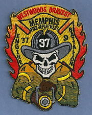 MEMPHIS TENNESSEE FIRE DEPARTMENT ENGINE COMPANY 37 PATCH