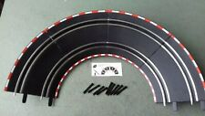 CARRERA GO!!!   BANKED TRACK CURVES WITH SUPPORTS & TRACK CLIPS