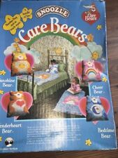 Care Bears Tenderheart Bear SNOOZLE Sleeping Bag vintage 1983 Carebears
