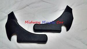 bucket seat hinge trim covers (pr)  73-81 Chevy Camaro Pontiac Trans Am Firebird