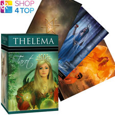 THELEMA TAROT DECK CARDS LECHNER LO SCARABEO ESOTERIC FORTUNE TELLING NEW
