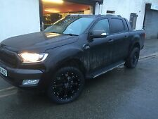 """20"""" RACELINE ASSAULT  ALLOY WHEELS AND TYRES COOPER AT3 FORD RANGER  D-MAX L200"""