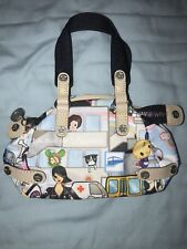 Tokidoki For Lesportsac Citta Bocce Small Tote Bag Purse Clutch