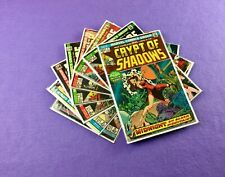 Crypt of Shadows Lot: 8-Bk- #1, 2, 5, 8, 9, 16, 19, 20!  Bronze Age Horror!