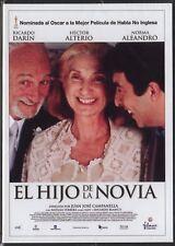 """Película DVD • """"EL HIJO DE LA NOVIA"""" Precintada Envío inmediato  Promoción"""