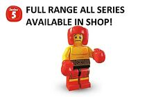 Lego boxer series 5 unopened new factory sealed