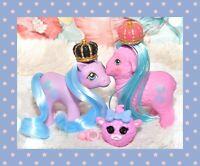 ❤️My Little Pony MLP G1 Vtg Pretty Pal Baby Fleecy & Woolly Lamb Friend OOAK❤️