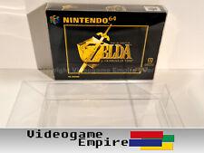 10x Schutzhüllen 0,4mm PET Nintendo 64 N64 Spiel OVP Box Protector [STRONG EDGE]