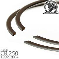 2x anillos de pistón para Honda CR250 CR 250 R 1992-2004 (segmento)