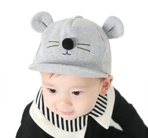 Baby Cap Girl Boy Hat Child Newborn Infant Toddler Unisex Cotton Kids Children