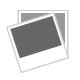 9ct white gold blue & clear stone set hoop earrings with full hallmarks