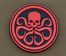 "PVC / Rubber Patch ""Hydra"" with VELCRO® brand hook"