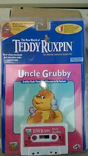 New 1998 Yes! Ent. Teddy Ruxpin, Uncle Grubby Book & Cassette Tape