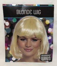 Women Ladies Short Blonde Bob Wig Fancy Dress Pop Party Costume Gift Halloween