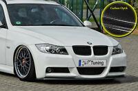 Spoilerschwert Frontspoiler ABS BMW E90 E91 VFL 3er M-Paket mit ABE Carbon Optik