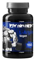 Dyanabol Arginin 150 Kapseln Vegan Pump Muskelaufbau Booster No-x Aminosäure