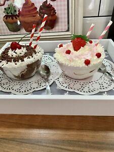 Faux Dessert Cakes