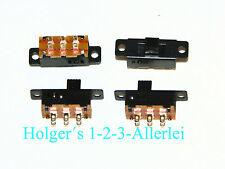 Micro Schiebeschalter Umschalter EIN AUS EIN 2polig 250V 3A