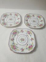 Royal Albert Petit Point Chintz Bone China Bread Plate