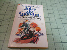 THE SKELETON CLOSET OF  JULES de GRANDIN BY SEABURY QUINN   PULP WEIRD TALES FIC
