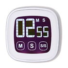 Large Touch Screen LCD Digital Kitchen Timer Count Down Up Clock Loud Alarm New