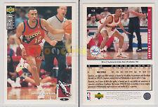 NBA UPPER DECK 1994 COLLECTOR'S CHOICE - Johnny Dawkins # 12 - Ita/Eng- MINT