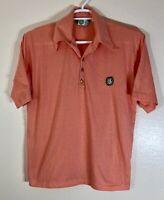 Rolling Green Country Golf Polo Shirt XL Men's Orange Arlington Heights Ill
