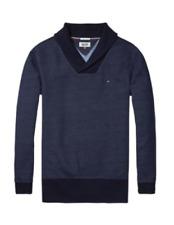 Original Hilfiger Denim Herren Pullover NEU OVP Dark Indigo tommy jeans  S