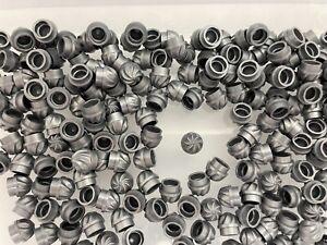 LEGO 15470 - NEW 1x1 Flat Silver Round Twist Swirl / 15 Pieces Per Order