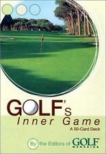 Golf's Inner Game Cards by Golf Magazine with FREE S/H