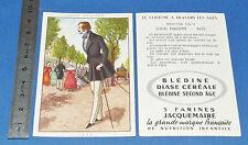 CHROMO 1950 GRANDE IMAGE BON-POINT BLEDINE COSTUME MACULIN LOUIS-PHILIPPE 1838
